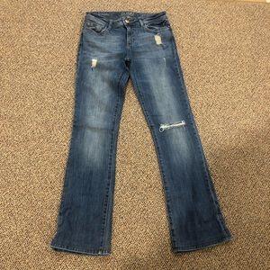DL1961 DLX HYBRID 360 Comfort Crop Flare Jeans